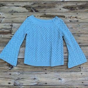 525 America | Seafoam green chunky knit sweater S